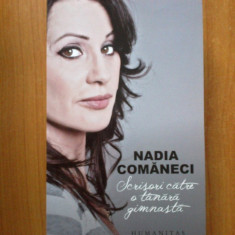 H2a Scrisori Catre O Tanara Gimnasta - Nadia Comaneci - editia 2 - Carte sport