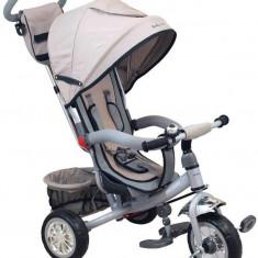 Tricicleta Multifunctionala Sunny Steps Grey - Tricicleta copii Baby Mix