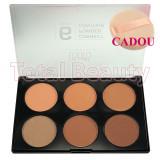 Trusa Pudra Contur fata 6 nuante - Powder Contouring + CADOU