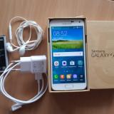 Samsung Galaxy S5 G901F 4G+ White - Telefon mobil Samsung Galaxy S5, Alb, 16GB, Neblocat, Single SIM