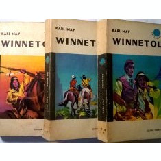 Winnetou (vol. I + II + III) - Karl May - Carte de aventura