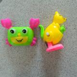 Set de doua jucarii pentru copii mici, cangur si rac, jucarii copii
