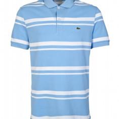 Tricou Lacoste Polo model nou / Polo Shirt Striped PH5021 L6F, M, XL - Tricou barbati, Marime: M, Culoare: Din imagine, Maneca scurta, Bumbac
