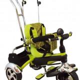 Tricicleta Multifunctionala Happy Days - Verde - Tricicleta copii Baby Mix