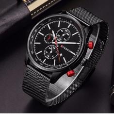Ceas pentru barbati CR8227-Negru - Ceas barbatesc Curren