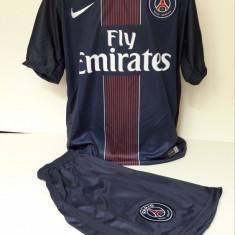 Echipament fotbal pentru copii Paris Saint Germain-Di Maria marimea 176, Marime: Alta, Set echipament fotbal