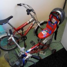 Vând doua biciclete BMX pentru copi. Ieftin - Bicicleta BMX, 12 inch, 20 inch, Numar viteze: 30
