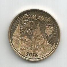 No(1) moneda-ROMANIA- 50 bani 2016-Iancu de Hunedoara