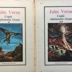 COPII CAPITANULUI GRANT - Jules Verne (2 volume) - Carte educativa