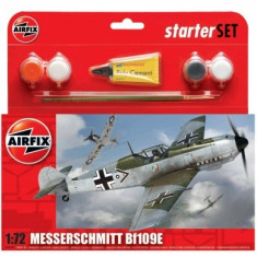 Kit Constructie Avion Messerschmitt Bf109e - Set de constructie Airfix