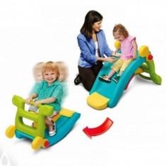 Tobogan Pentru Copii Grown Up Maxi Slide 2 In 1 Cu Balansoar - Leagan