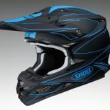 MXE Casca Motocross Shoei VFX-W Hectic TC-2 negru/albastru Cod Produs: 1406182SAU