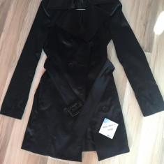 Palton de dama - Palton dama, Marime: 36, Culoare: Negru