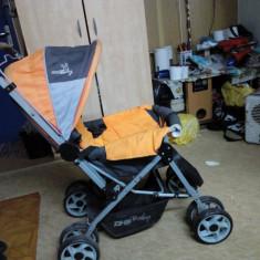 Carucior copii dsh babi - Carucior copii 3 in 1 DHS Baby, Albastru