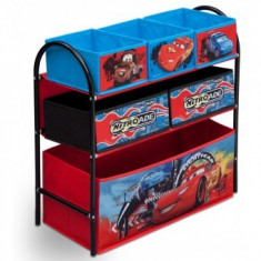 Organizator cu cadru metalic Disney Lightning McQueen - Sistem depozitare jucarii