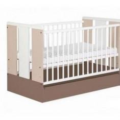 Patut Copii Lemn Cu Sertar Paula Latte - Patut lemn pentru bebelusi Klups