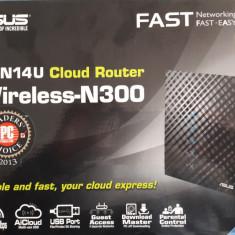 Router wireless ASUS -RT-N14U, Porturi LAN: 4