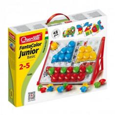 Joc Creativ Fanta Color Junior Basic Quercetti Constructii Mozaic - Jocuri arta si creatie
