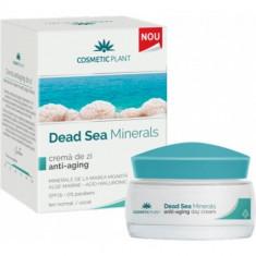 Dead Sea Minerals Crema de Zi Anti-Aging 50ml, COSMETIC PLANT - Lotiune Tonica