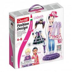 Joc Creatie Vestimentara Fashion Design Lisbeth Magnetic - Jocuri arta si creatie Quercetti