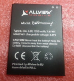 Baterie acumulator Allview V1 Viper L  originala swap, Alt model telefon Allview, 1000mAh/3,7Wh, Li-ion