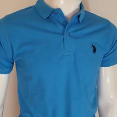 Tricou U.S.Polo Assn - Tricou barbati US Polo Assn, Marime: L, XL, Culoare: Albastru, Maneca scurta