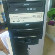 Sistem PC AMD Dual Core 4200+, 3GB RAM, Placa video NVidia 9800GT - Sisteme desktop fara monitor AMD, AMD Athlon II