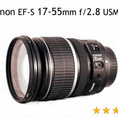 Canon EF-S 17-55mm f/2.8 USM IS - Obiectiv DSLR