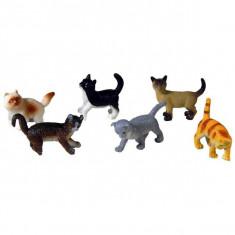 Jucarie Set pisici de rasa animale de companie