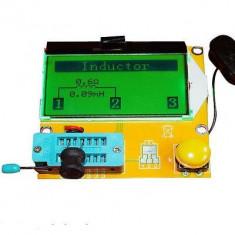APARAT de MASURA pt. inductanta, tranzistori, thyristori condensatoare triac - Ampermetru