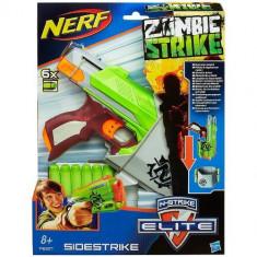 Nerf Zombie Strike Sidestrike - Pistol de jucarie Hasbro