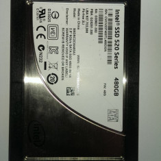 Ssd intel de 480 gb seria 520 /sata 3 /ideal mac /garantie intel 2018