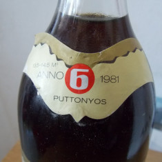 Vin Tokaji ASZU -6 puttonyos -1981 - Vinde Colectie, Aroma: Demi-dulce, Sortiment: Roze, Zona: Europa
