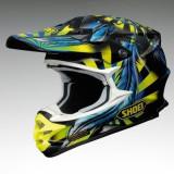 MXE Casca Motocross Shoei VFX-W Grant 2 TC-3 galben/albastru Cod Produs: 1406906SAU