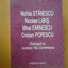 E1 Nichita Stanescu, Nicolae Labis, Mihai Eminescu, Cristina Popescu - N. Tone - Studiu literar