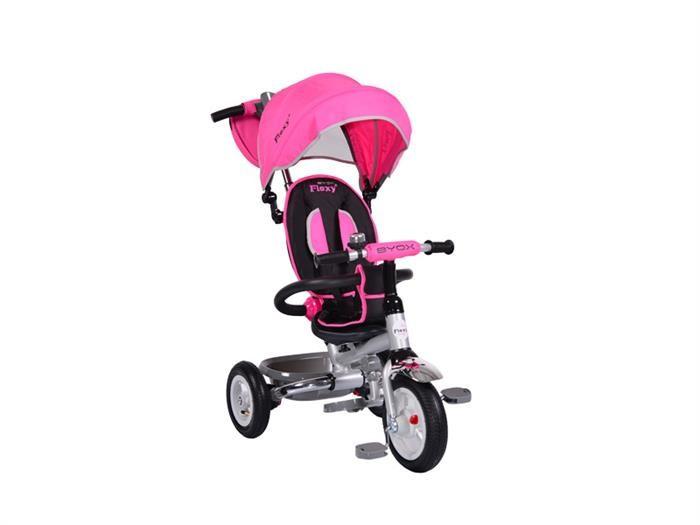 Tricicleta Copii Moni Flexy Plus Roz foto mare
