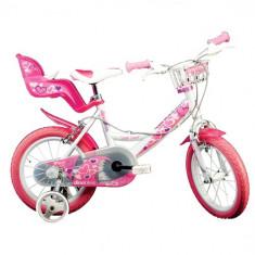 Bicicleta 164 RN, 16 inch Alb - Bicicleta copii Dino Bikes