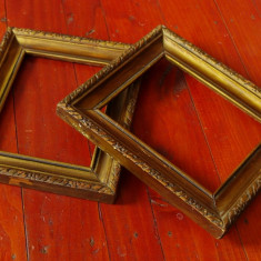 Lot 2 bucati - rama din lemn pentru fotografie / tablou sau oblinda !!! - Rama Tablou, Decupaj: Dreptunghiular