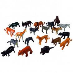 Jucarie Set animale salbatice din jungla si savana - Figurina Animale