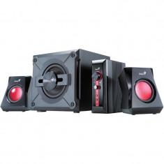 Boxe Genius GX Series SW-G2.1 1250 - Boxe PC Genius, 0-40W, Activa