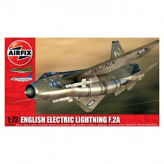 Kit Aeromodele Arifix 4054 Avion English Electric Lightning F.2A Scara 1:72 - Set de constructie Airfix
