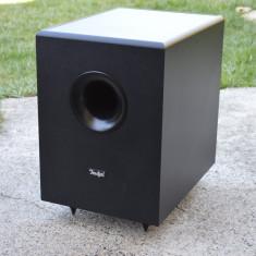 Subwoofer Teufel activ cu amplificare, Boxe podea, 81-120W