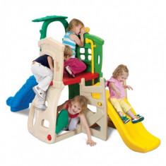 Grow N Up Tobogan Dublu Cu Copacel Pentru Umbra - Tobogan copii