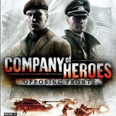 Company of Heroes Opposing Fronts - Jocuri PC Thq, Strategie, 18+