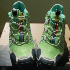 Adidasi Trailrunning Salomon Speed Cross 3, Marime 37, 5 - Adidasi dama Salomon, Culoare: Verde, Marime: 37 1/3