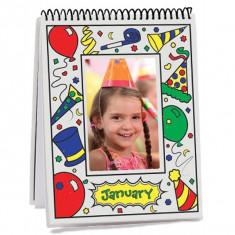 Carnet De Colorat Lunile Anului - Jocuri arta si creatie Melissa & Doug