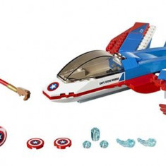 Lego® Super Heroes Capitanul America Si Urmarirea Avionului Cu Reactie - 76076