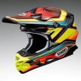 MXE Casca Motocross Shoei VFX-W Capacitor TC-3 rosu Cod Produs: 1406180SAU