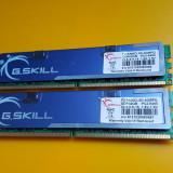 Kit 4GB DDR2 Desktop, 2x2GB, G.SKILL, 800Mhz, PC2-6400, CL5, Radiator - Memorie RAM G.Skill, Dual channel