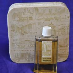Parfum vechi Bucuresti. Miraj. Apa de toaleta de colectie!Sticla parfum romanesc - Sticla de parfum